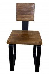 Masif Ahşap Sandalye-2
