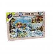 Playwood Deniz Kizi Ahsap Egitici Puzzle