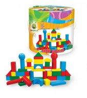 Woodoy Büyük Kova Bloklar 60 Parça