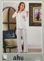 Ahu Cotton 2' Li Takım Pijama Model 164