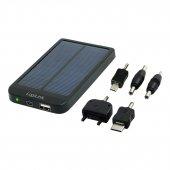 2direct 2d Pa0055 Logilink Taşınabilir 2600 Batarya, Güneş Enerjisiyle De Şarj Edilebilir (Solar Power Charger Pack)