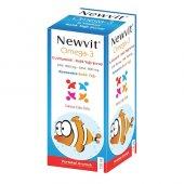 Newvit Omega 3 D3 Vitaminli Balık Yağı Şurup...
