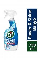 Cif Power Shine Banyo Temizleme Spreyi 750 Ml
