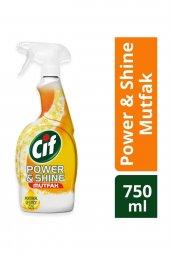 Cif Power Shine Mutfak Temizleme Spreyi 750 Ml