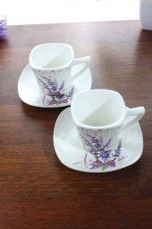 Zigzag Home Porselen 2li Kahve Takımı