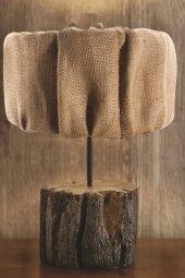 Qtük Kütük Abajur 30cm