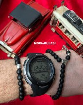 Honhx Full Dijital Kronometreli Alarmlı Işıklı Erkek Kol Saati-2