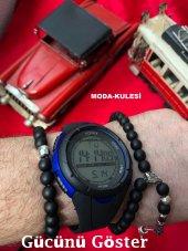 Honhx Full Dijital Kronometreli Alarmlı Işıklı Erkek Kol Saati-4