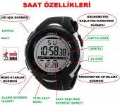 Honhx Full Dijital Kronometreli Alarmlı Işıklı Erkek Kol Saati-6