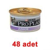 Proplan Junior Tavuklu Yavru Kedi Konservesi 85 Gr...