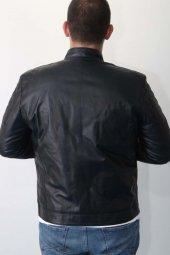 Cleanshaw Erkek Deri Mont-3