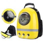 Sarı Astronot Kedi Taşıma Sırt Çantası 42*32*25...
