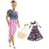 Barbie Fashionıstas Bebek Ve Kıyafetleri Çift...