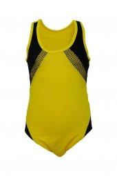 Dagi Kız Çocuk Yüzücü Mayo Sarı K0118y0011sr...