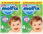 Molfix Bebek Bezi 4 Beden 7 14 Kg Ultra Avantaj...