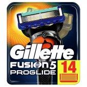 Gillette Fusion Proglide Yedek Tıraş Bıçağı 14lü K...