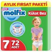 Molfix Pants Külot Bebek Bezi 7 Beden 19+ Kg 2 Paket 72 Adet