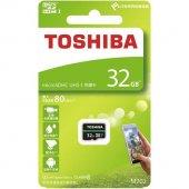 Toshiba 32gb Micro Sd Hafıza Kartı C10 U1 80mb...