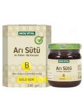 Aksu Vital Arı Sütü Arı Poleni Ham Bal Bebe Doz 7000 Mg 220 G