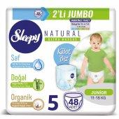 2li Jumbo Sleepy Natural Külot Bez 5 Numara...
