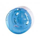 Palex 3442-1 Mini Pratik Tuvalet Kağıdı Dispenseri Şeffaf Mavi