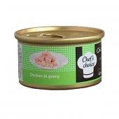 Chefs Choice Tavuk Etli Tahılsız Kedi Konservesi 80 Gr