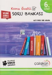 Çalışkan 6. Sınıf Tüm Dersler Video Çözümlü Konu Özetli Soru Bankası YENİ