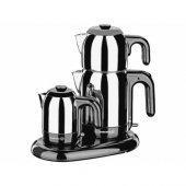 Korkmaz A353 Mia Siyah Inox Çay Kahve Makinası