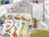 Cottonbox Ranforce Bebek Uyku Seti OYUN BAHÇESİ (Bebeğinize ambalajında küçük sabunumuz hediyemizdir)
