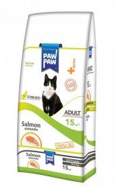 Paw Paw (Pawpaw) Sterilised Somonlu Kısır Kedi Mam...