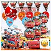 Cars 3 Şimşek Mcqueen Doğum Günü Parti...