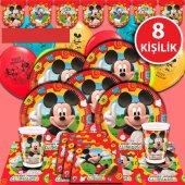 Mickey Mouse Miki Doğum Günü Parti Malzemeleri...