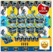 Batman Betmen Doğum Günü Parti Malzemeleri...