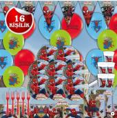 Spiderman Örümcek Adam Doğum Günü Parti...