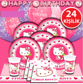 Hello Kitty Doğum Günü Parti Malzemeleri...