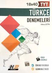 Hız ve Renk Yayınları TYT Türkçe 18 x 40 Türkçe Denemeleri