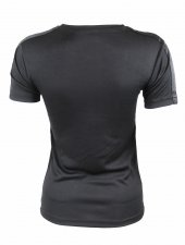 Bayan Siyah Sporcu Tişört-3