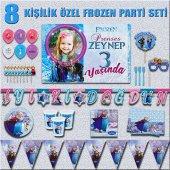 Afişli Frozen Karlar Ülkesi Elsa Anna Doğum...