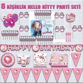 Afişli Hello Kitty Doğum Günü Parti Malzemeleri...