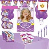 Afişli Sofia Prenses Sofia Doğum Günü Süsleri...