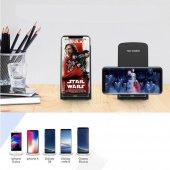 Kablosuz Cep Telefonu Hızlı Şarj Standı Pratik Şarj Aleti Cihazı-4