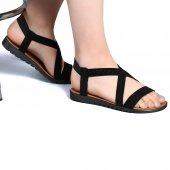 Muço Rahat Günlük 7 Farklı Renk Bayan Terlik Sandalet