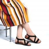Muço Rahat Günlük 7 Farklı Renk Bayan Terlik-Sandalet-2