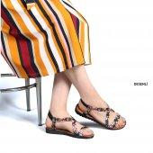 Muço Rahat Günlük 7 Farklı Renk Bayan Terlik-Sandalet-4