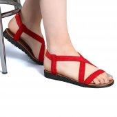 Muço Rahat Günlük 7 Farklı Renk Bayan Terlik-Sandalet-5