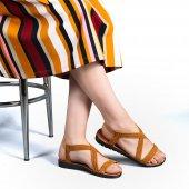 Muço Rahat Günlük 7 Farklı Renk Bayan Terlik-Sandalet-7