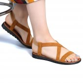 Muço Rahat Günlük 7 Farklı Renk Bayan Terlik-Sandalet-8
