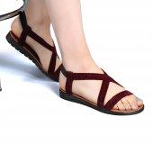 Muço Rahat Günlük 7 Farklı Renk Bayan Terlik-Sandalet-9