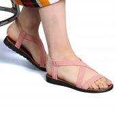 Muço Rahat Günlük 7 Farklı Renk Bayan Terlik-Sandalet-10