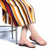 Muço Rahat Günlük 7 Farklı Renk Bayan Terlik-Sandalet-11